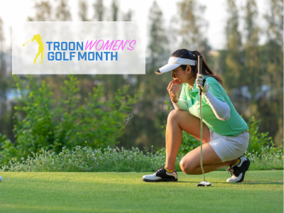 Troon Womens Golf Month at The Frog - Georgia